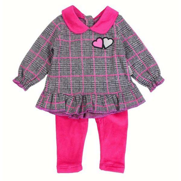 compleu roz pentru bebe fetite