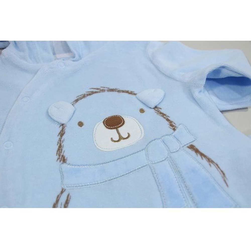 compleu gluga albastru ursulet