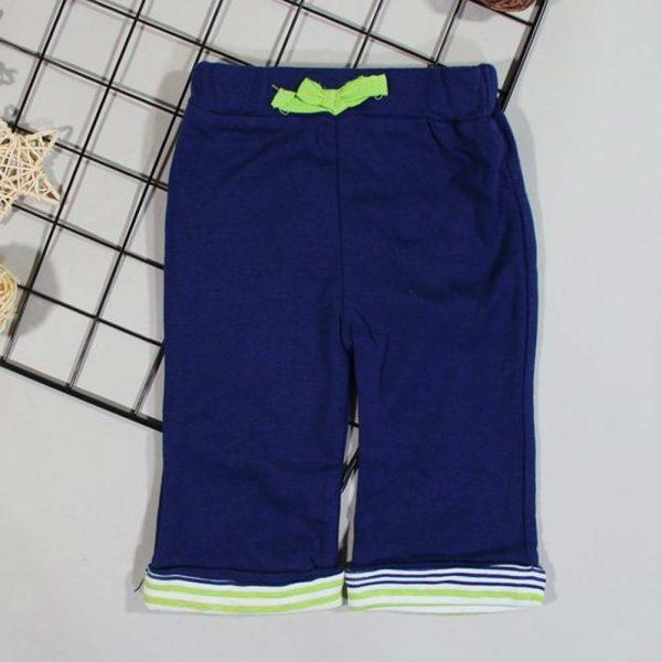 pantaloni bleumarin bumbac confortabili pentru baieti