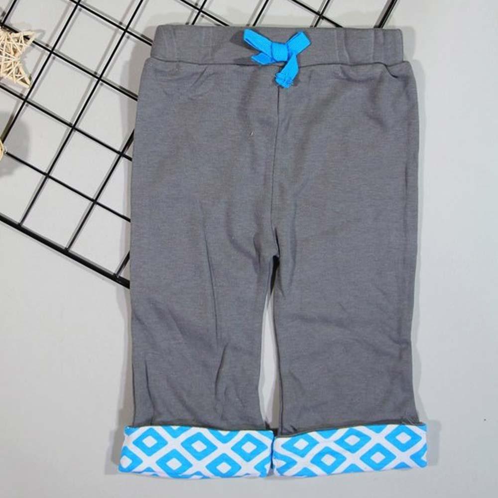 pantaloni fete gri