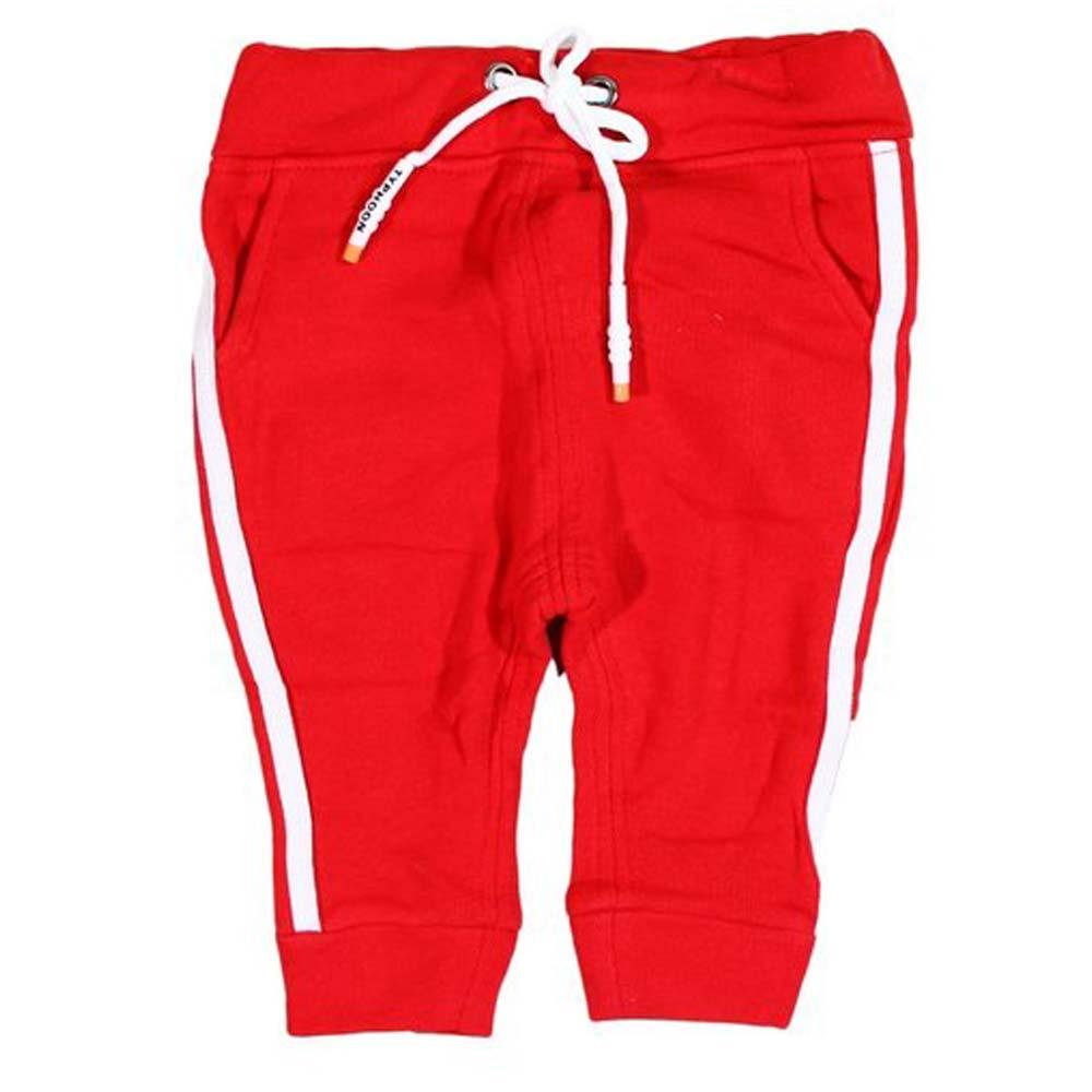 pantaloni rosii trening pentru fetite