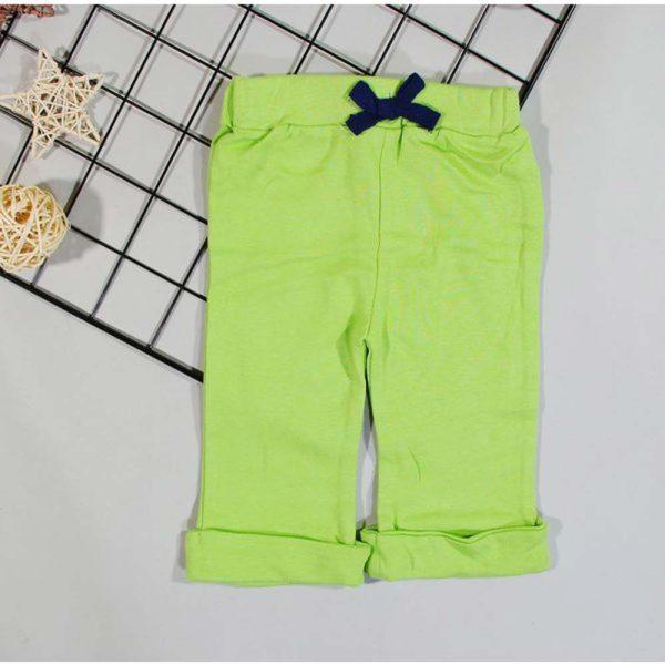 pantaloni verzi cu snur de prindere