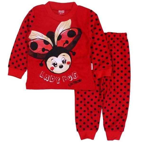 pijama ladybug cikibom