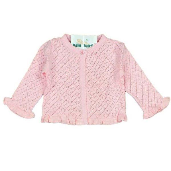 pulover roz elegant