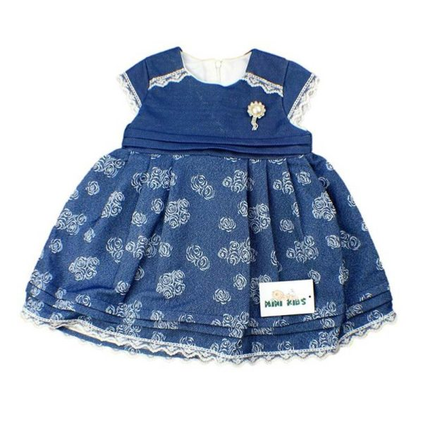 rochita eleganta albastra