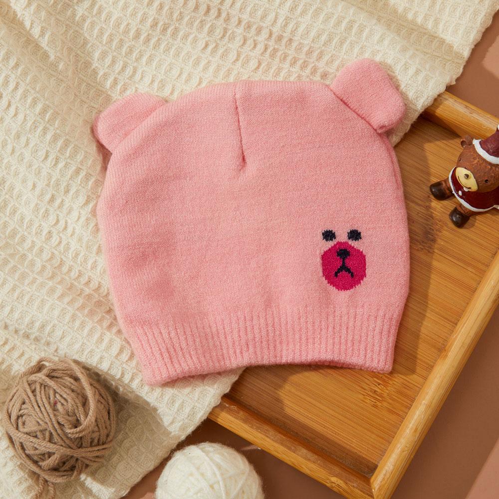Caciula tricotata bebelusi roz