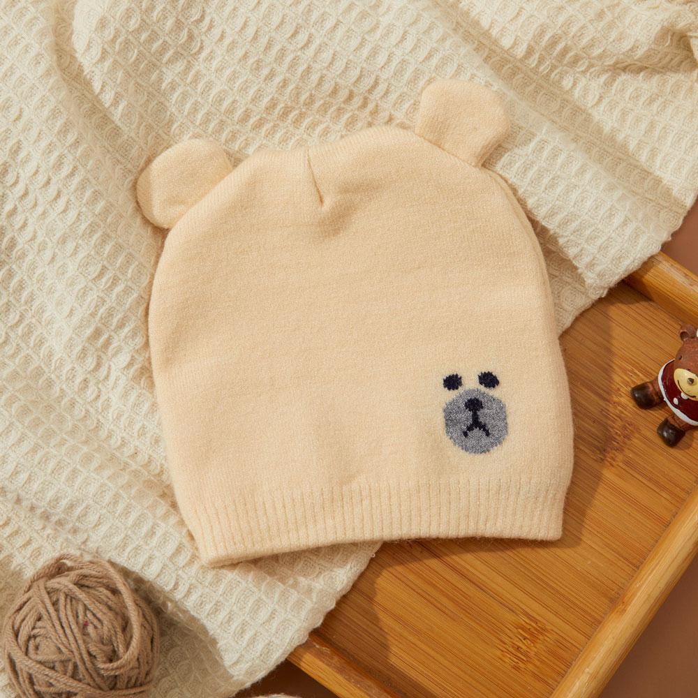 Caciula tricotata bebelusi bej