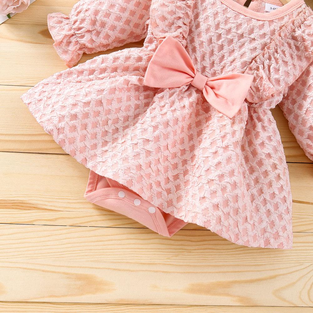 Rochita roz cu fundita