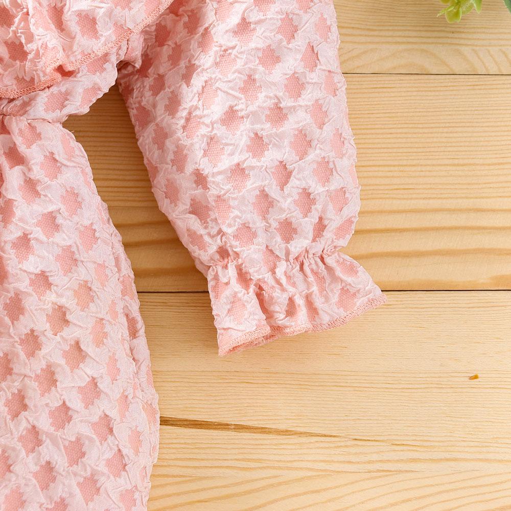 Rochita roz cu fundita bebelusi