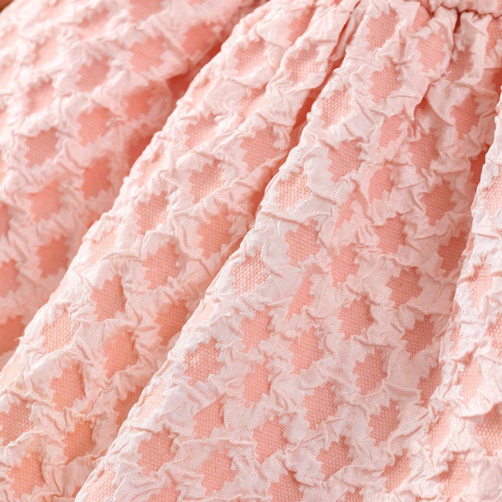 Rochita roz botez cu fundita
