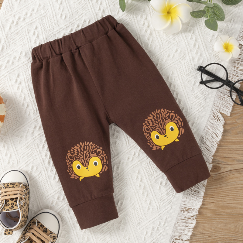 Trening pentru baieti cu pantaloni bumbac