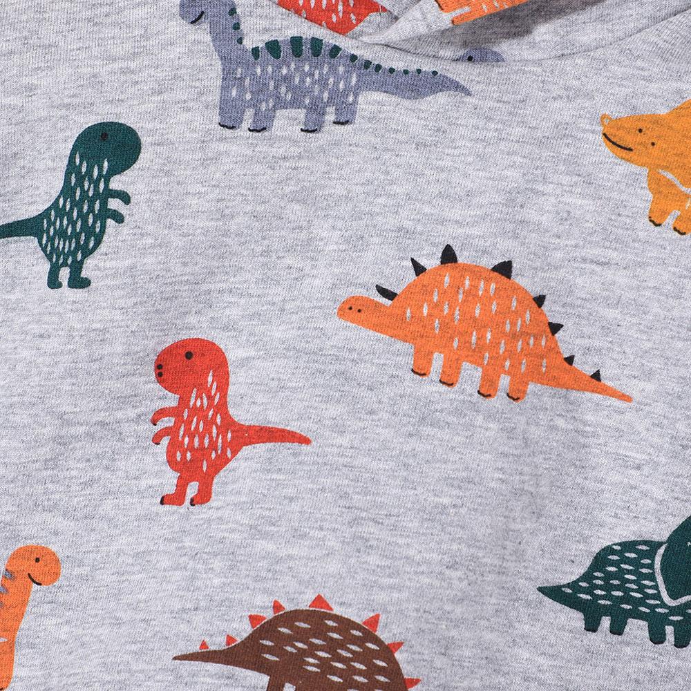 Trening baieti cu dinozauri gluga